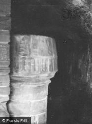 Noltland Castle, Stair Newel 1954, Westray