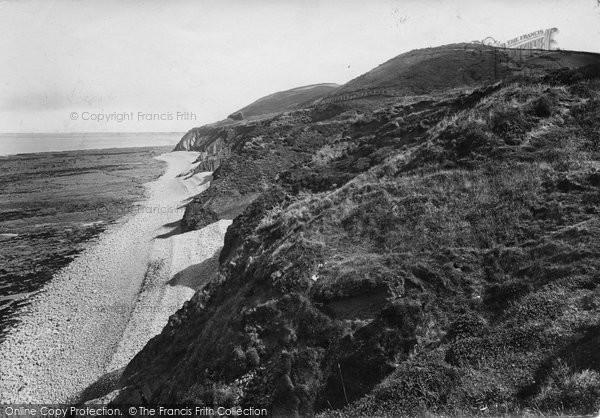 Photo of Westward Ho!, Abbotsham Cliffs 1923
