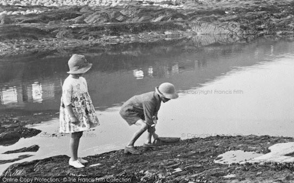 Photo of Westward Ho!, Bathing Pool, Children 1923