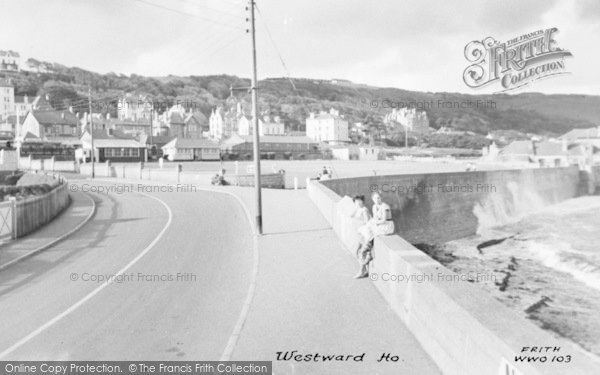 Photo of Westward Ho!, c.1960