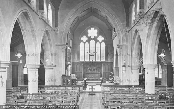 Photo of Westward Ho!, Church Interior 1923