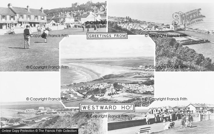 Photo of Westward Ho!, Composite c.1955