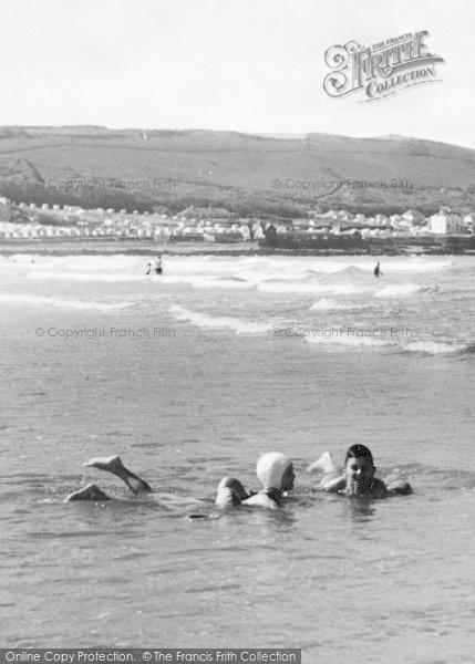 Photo of Westward Ho!, Floating In The Sea c.1960