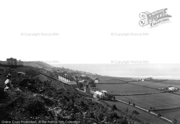 Photo of Westward Ho!, From Above 1890