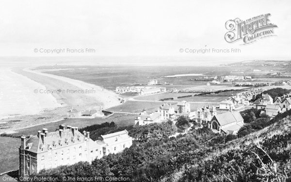 Photo of Westward Ho!, From Above 1899