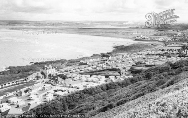 Photo of Westward Ho!, From Kipling Tors c.1960