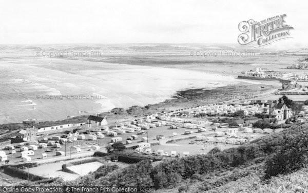 Photo of Westward Ho!, From Kipling Tors c.1960