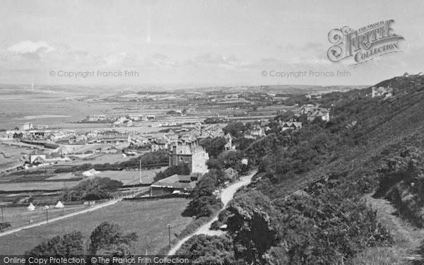 Photo of Westward Ho!, From Kipling Tors Walk 1930