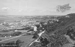 Westward Ho!, From Kipling Tors Walk 1930