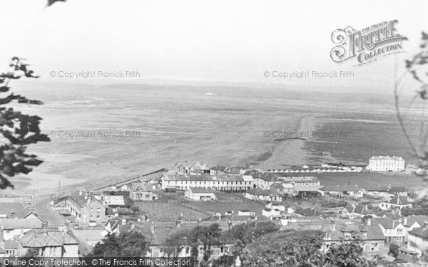 Photo of Westward Ho!, From The Hill c.1950