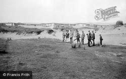 Golf Links, The Dreaded 4th Bunker 1907, Westward Ho!