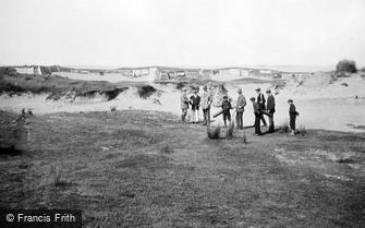 Westward Ho!, Golf Links, the Dreaded 4th Bunker 1907