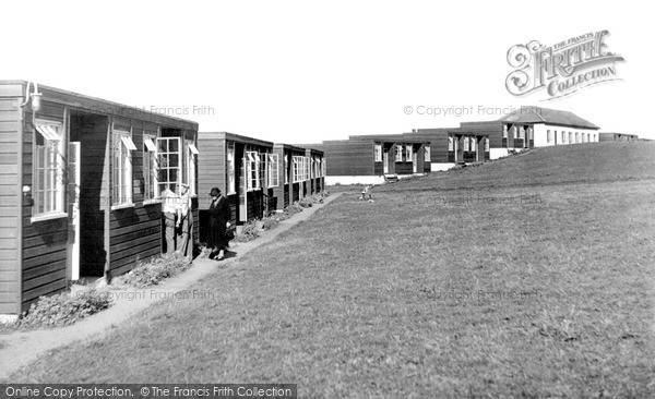 Photo of Westward Ho!, Holiday Centre Chalets c.1955