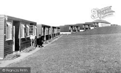 Holiday Centre Chalets c.1955, Westward Ho!