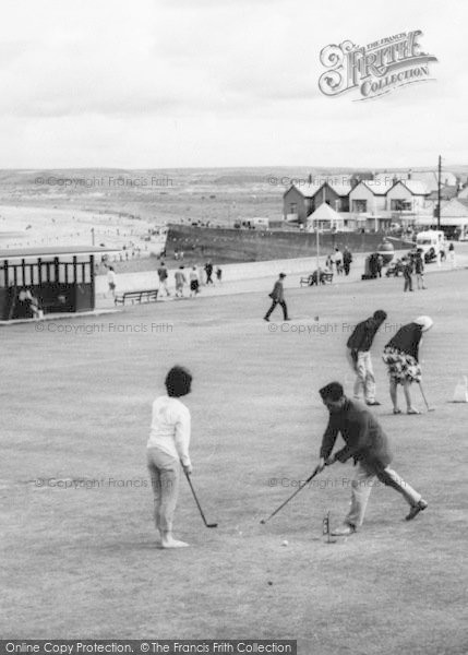 Photo of Westward Ho!, Holidaymakers On The Putting Green c.1965