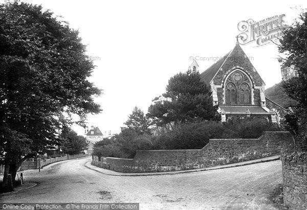 Photo of Westward Ho!, Holy Trinity Church 1906