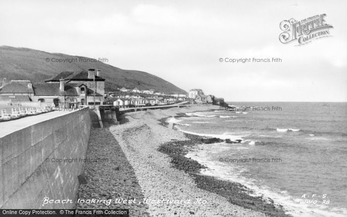 Photo of Westward Ho!, Looking West c.1955