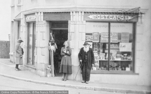 Photo of Westward Ho!, Nelson Road, General Stores 1920