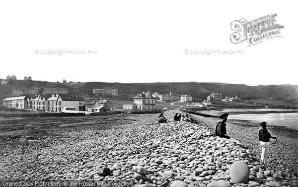 Photo of Westward Ho!, Pebble Ridge c.1875