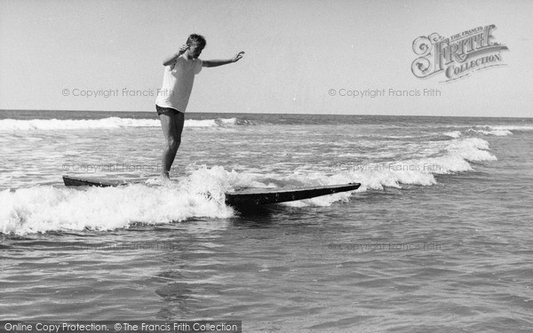 Photo of Westward Ho!, Riding The Surf c.1960