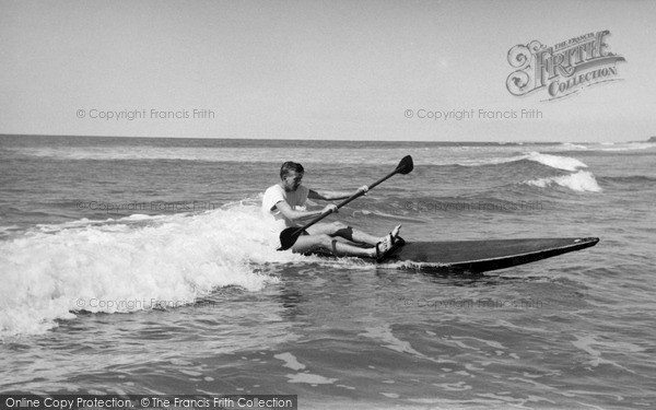 Photo of Westward Ho!, Riding The Surf c.1960