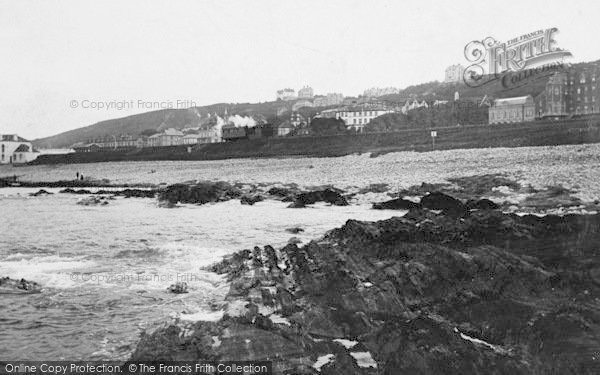 Photo of Westward Ho!, Rocks And Beach 1906