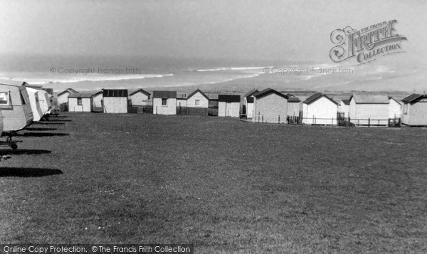 Photo of Westward Ho!, Sea And Western Caravan Site c.1955