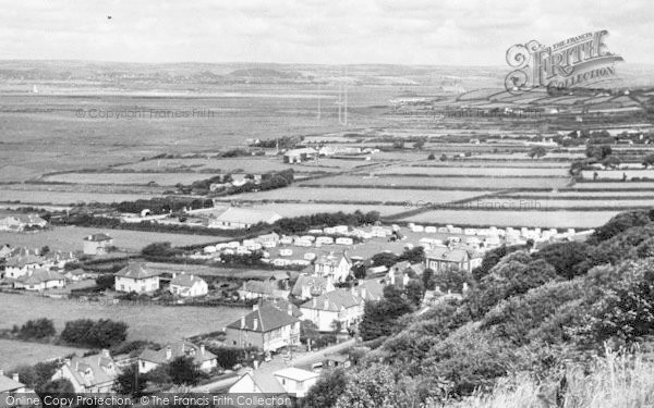 Photo of Westward Ho!, Showing Jorvillas Camp c.1955