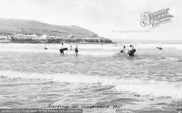 Photo of Westward Ho!, Surfing c.1960