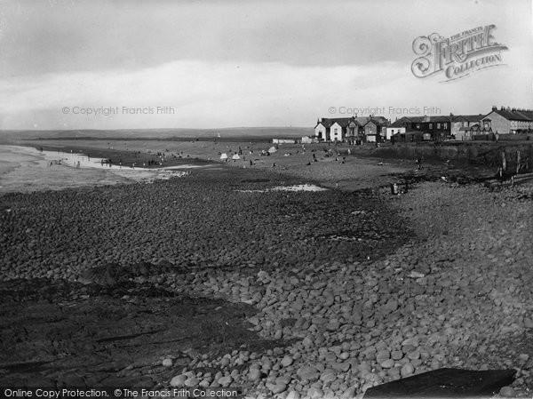 Photo of Westward Ho!, The Beach 1923