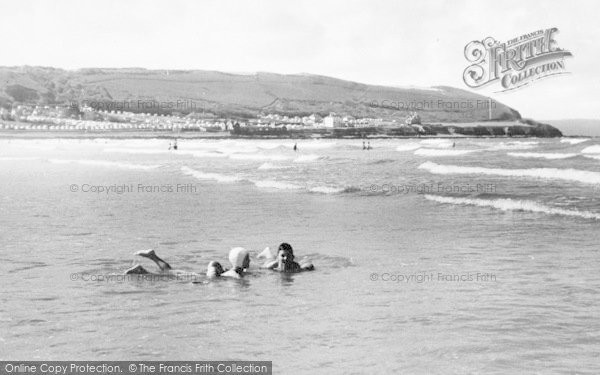 Photo of Westward Ho!, The Beach c.1960
