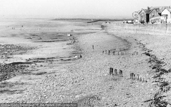 Photo of Westward Ho!, The Beach c.1960