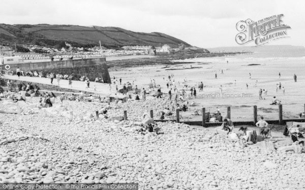 Photo of Westward Ho!, The Beach c.1965