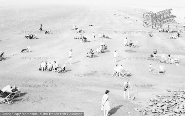 Photo of Westward Ho!, The Beach c.1965