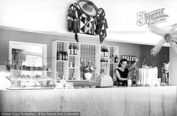 Photo of Westward Ho!, The Gay Sombrero Café Interior c.1960