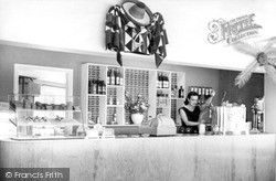 The Gay Sombrero Café Interior c.1960, Westward Ho!