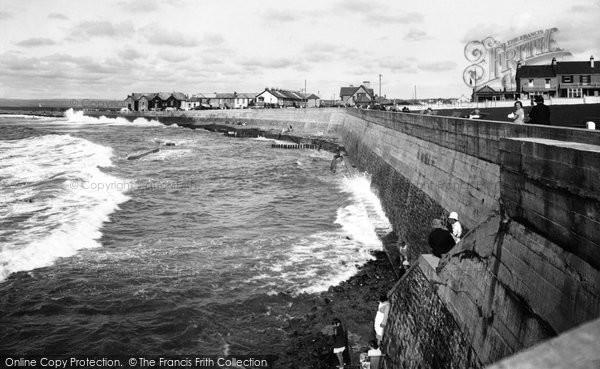 Photo of Westward Ho!, The Promenade At High Tide 1935