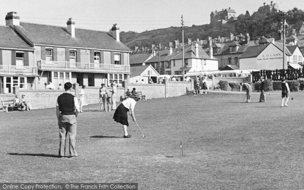 Photo of Westward Ho!, The Putting Green c.1950