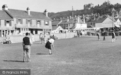 The Putting Green c.1950, Westward Ho!