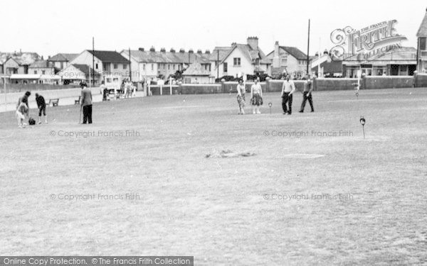 Photo of Westward Ho!, The Putting Green c.1960