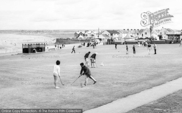 Photo of Westward Ho!, The Putting Green c.1965