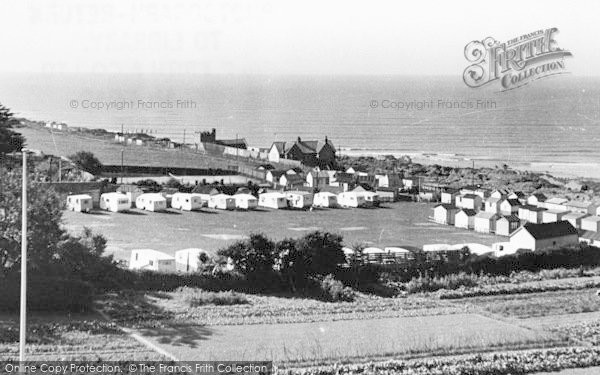 Photo of Westward Ho!, View From Golden Bay Hotel c.1955