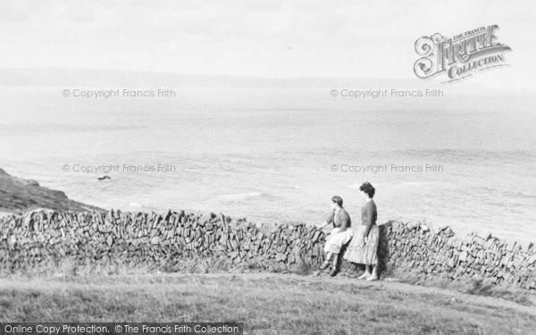 Photo of Westward Ho!, View From Kipling Tors c.1960