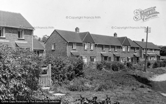 Photo of Westwell, Council Estate c.1960