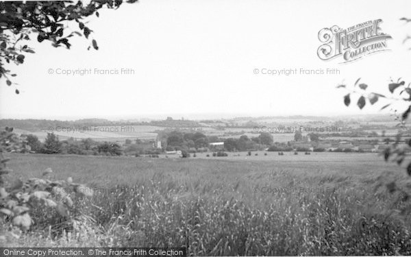 Photo of Westwell, From Pilgrims Way c.1960