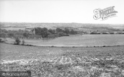 Westwell, From Pilgrims Way c.1960