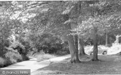 Westwell, Pilgrims Way c.1960