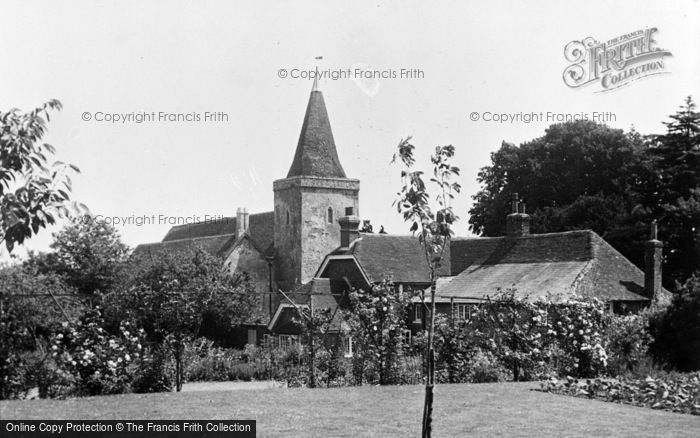 Photo of Westwell, St Mary's Church c.1960