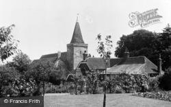 Westwell, St Mary's Church c.1960