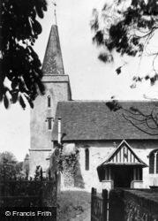 St Mary's Church c.1960, Westwell